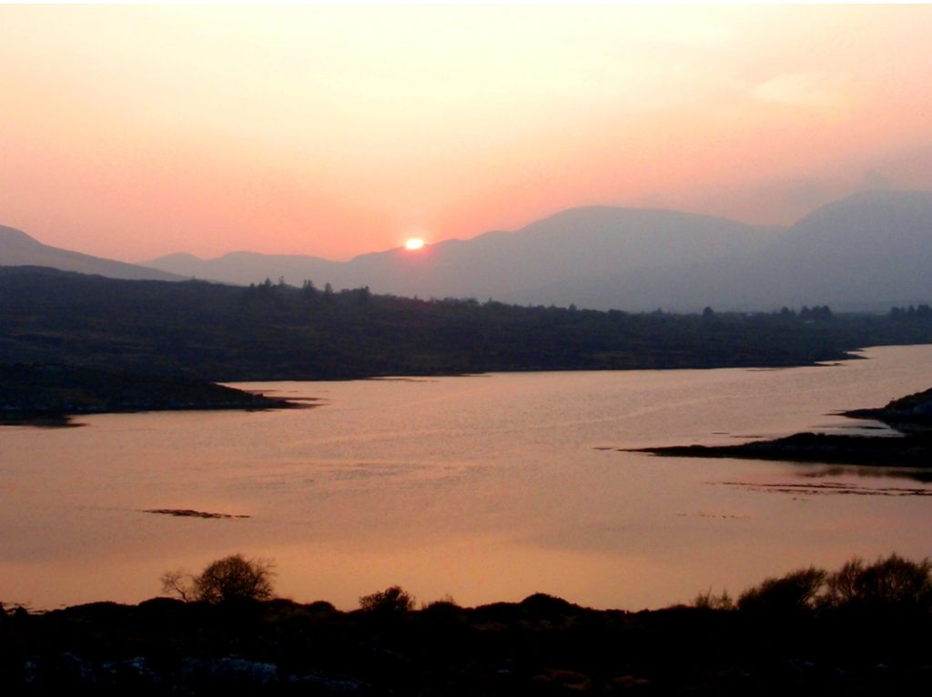 Sneem Secret Harbour - Sunset Kerry